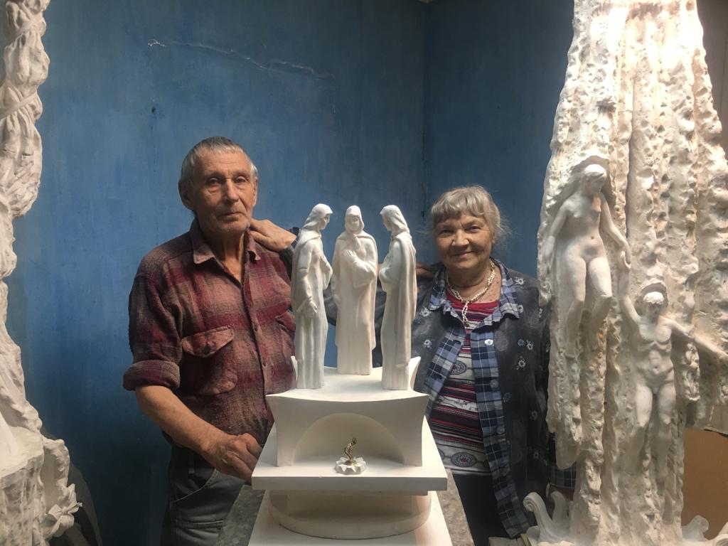 Скульптору Геннадию Паршину — 85!